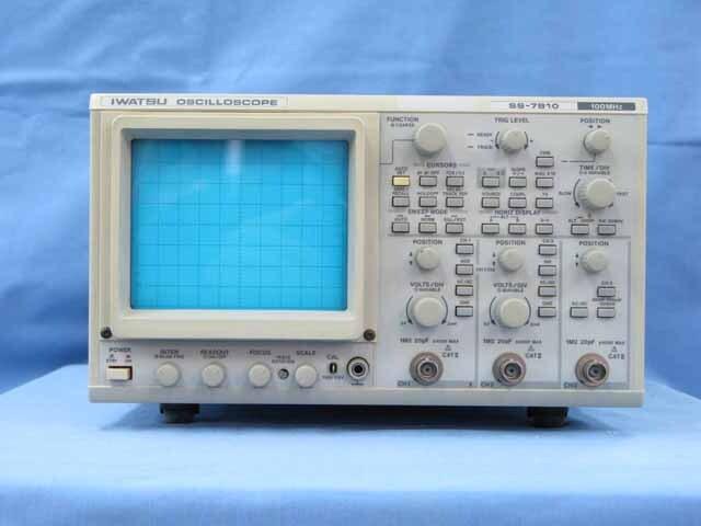 中古 岩崎通信機 アナログ・オシロスコープ SS-7810 (管理番号:UKK-10421)