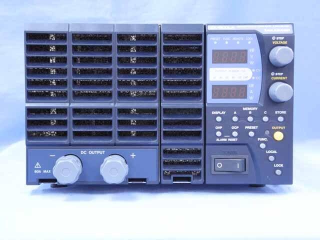 中古 高砂製作所 直流安定化電源 ZX-800LA (管理番号:UKK-10424)