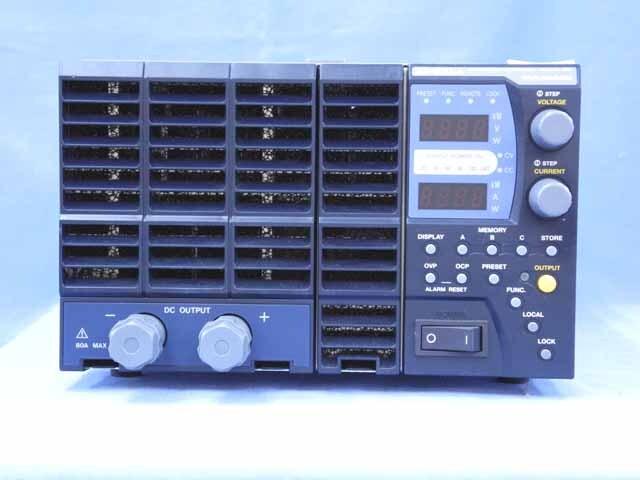 中古 高砂製作所 直流安定化電源 ZX-800LA (管理番号:UKK-10425)