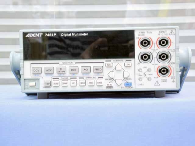 中古 エーディーシー デジタルマルチメータ 7461P (管理番号:UKK-10439)
