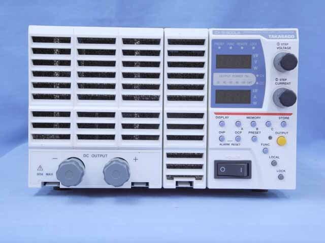 中古 高砂製作所 直流安定化電源 ZX-S-800LA (管理番号:UKK-10524)