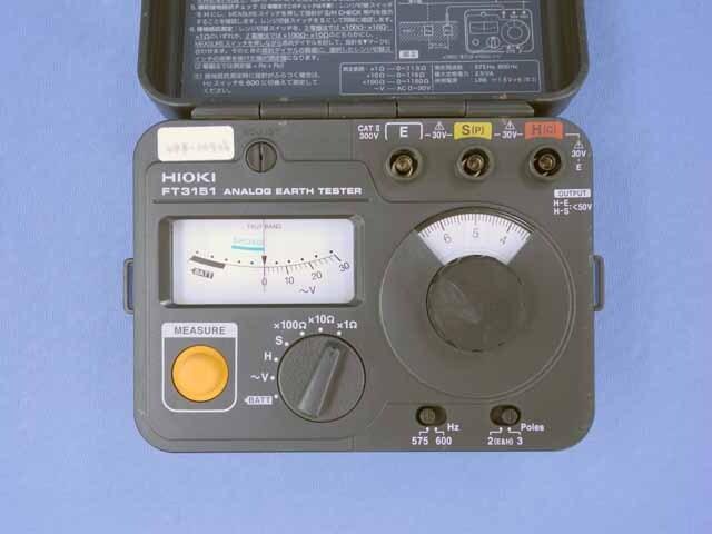 中古 日置電機 接地抵抗計 FT3151 (管理番号:UKK-10526)