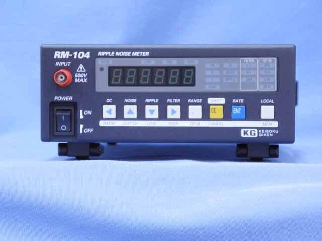 中古 計測技術研究所 リップルノイズメータ RM-104 (管理番号:UKK-10557)