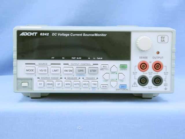 中古 エーディーシー 直流電圧・電流発生器 6242  (管理番号:UKK-10571)