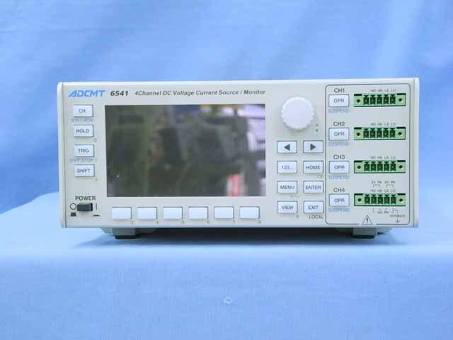 中古 エーディーシー 直流電圧・電流発生器 6541 (管理番号:UKK-10576)