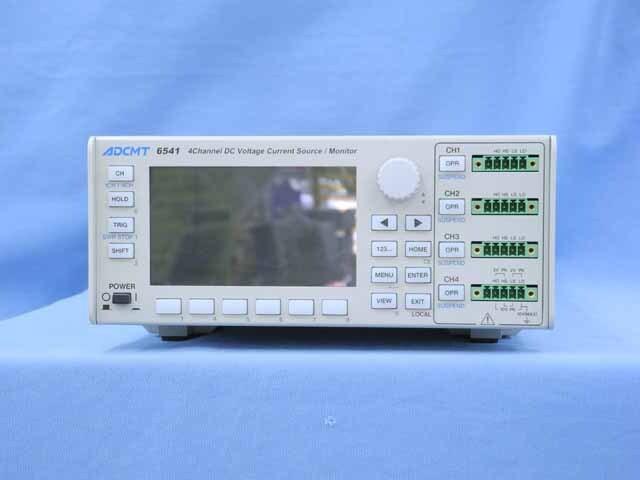 中古 エーディーシー 直流電圧・電流発生器 6541 (管理番号:UKK-10577)