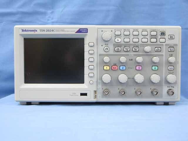 中古 テクトロニクス デジタル・オシロスコープ TDS2024C (管理番号:UKK-10579)