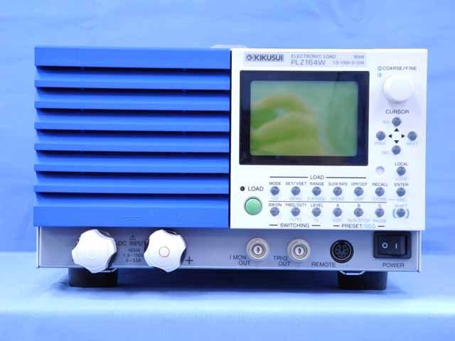 中古 菊水電子工業 直流電子負荷装置 PLZ164W  (管理番号:UKK-10602)