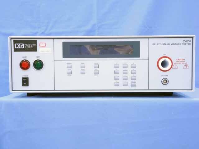 中古 計測技術研究所 DC耐電圧試験器 7474 (管理番号:UKK-10613)