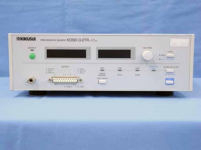 中古 菊水電子工業 プレシジョンDCソース KDS6-0.2TR (管理番号:UKK-10656)