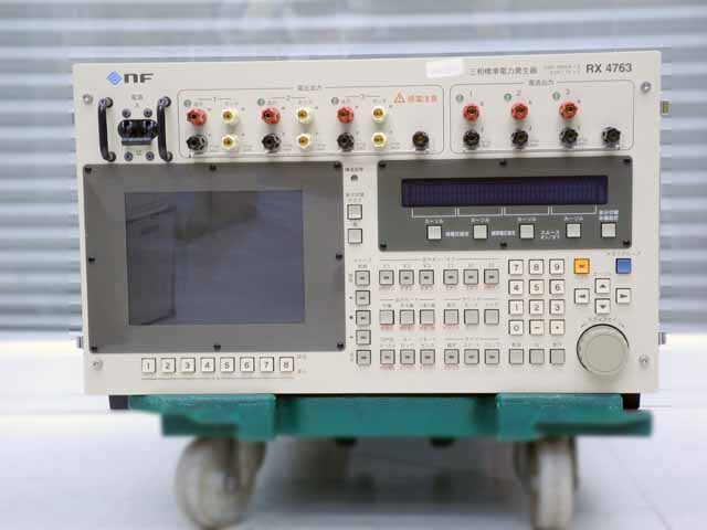 中古 エヌエフ回路設計ブロック 三相標準電力発生器 RX4763  (管理番号:UKK-10711)