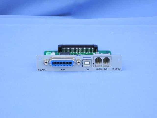 中古 テクシオ GP-IB・USBコントロールボード IF-70GU (管理番号:UKS-0327)