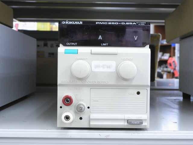 中古 菊水電子工業 直流安定化電源 PMC250-0.25A (管理番号:UKK-07441)