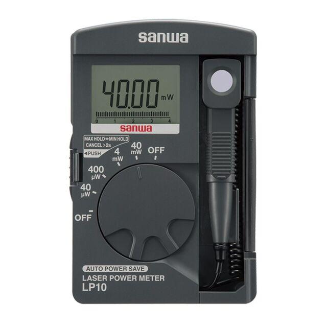 三和電気計器 レーザパワーメータ 0.01μW~40.39mWまで測定可能 LP10