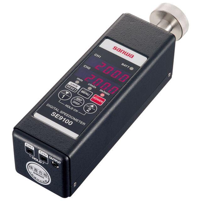 三和電気計器 速度計 2チャンネル表示 SE9100