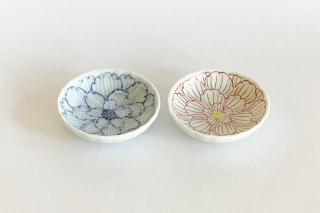 牡丹菊型小皿