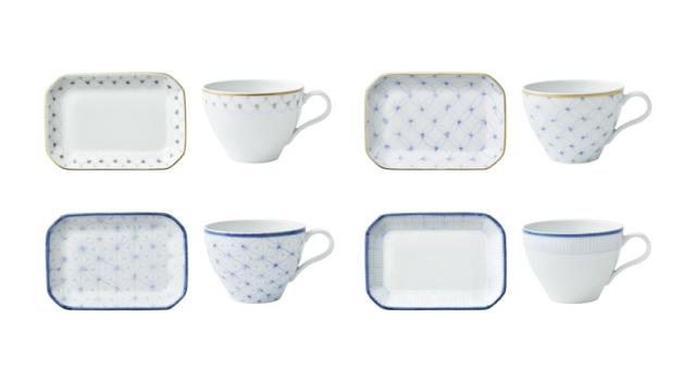 フィナンシェと紅茶の器【プレート】