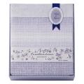 西川リビング 日本製ワッフル織りタオルケット No.80