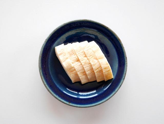 梅酢しぼり大根皿盛り