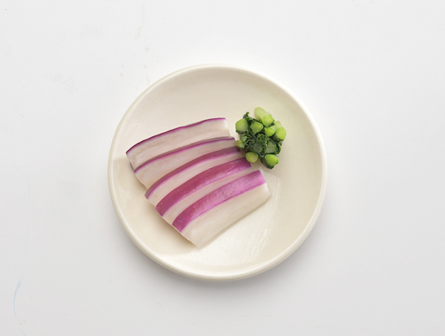 津田かぶ浅漬皿盛り