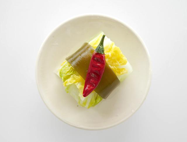 昆布巻白菜