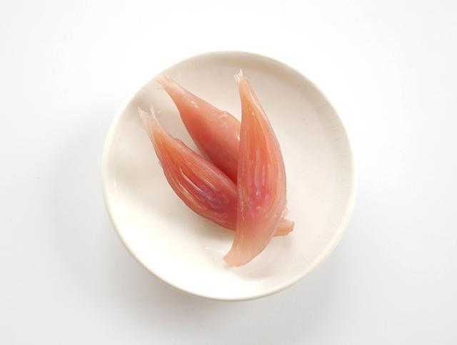 みょうがの甘酢漬皿盛り