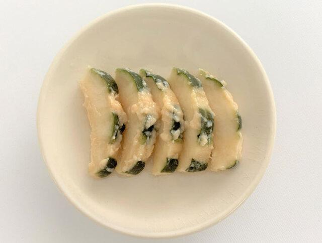 メロンの粕漬皿盛り(新漬)