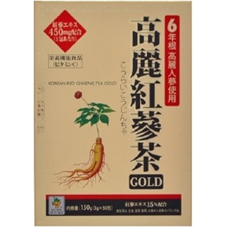 高麗紅参茶GOLD 3gx50包入