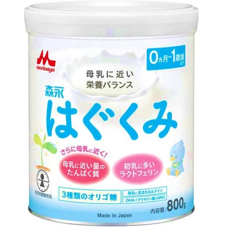 【森永乳業】はぐくみ大缶 810G