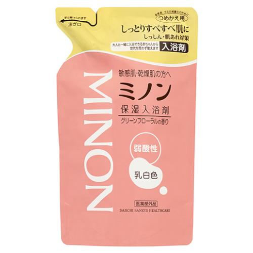 【医薬部外品】ミノン薬用保湿入浴剤詰替 400ml