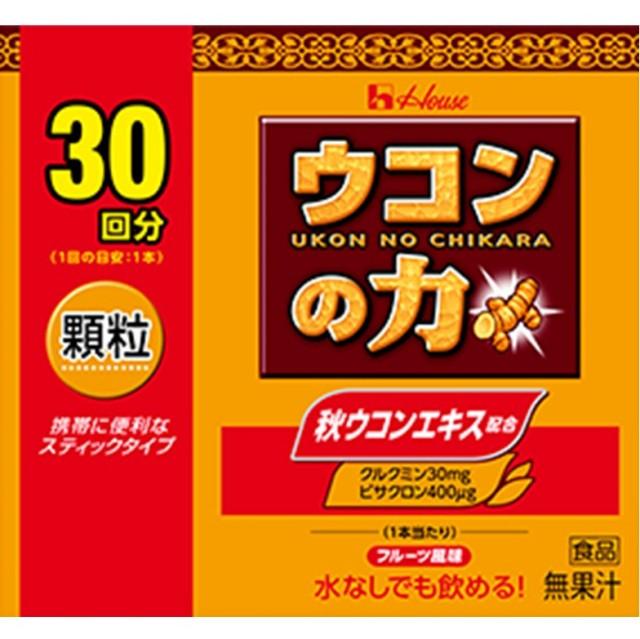 ウコンの力 顆粒 1.5gx30袋