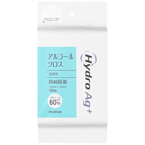 Hydro Ag+(ハイドロエージープラス) クロス アルコール60% 詰替用 100枚入
