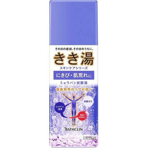 きき湯 ミョウバン炭酸湯 360g  F05