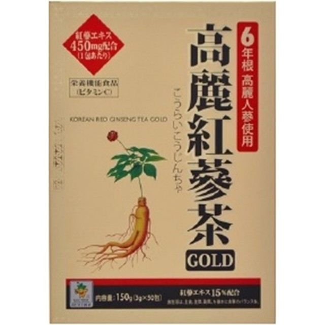 高麗紅参茶ゴールド 3gx50包入 F30