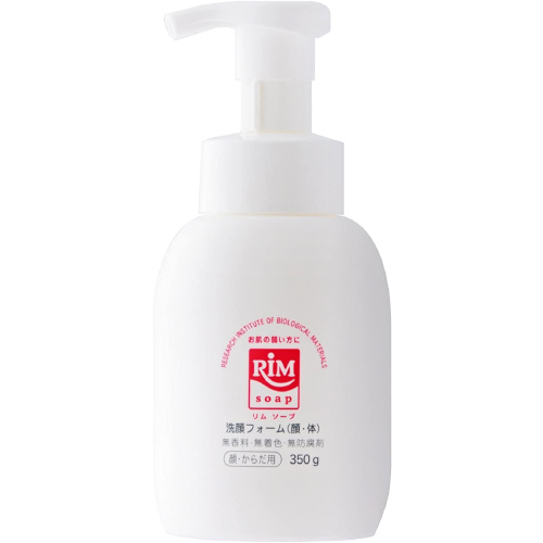 RIMソープ 保湿全身泡洗浄フォーム(顔・体) 据置タイプ 白 350g