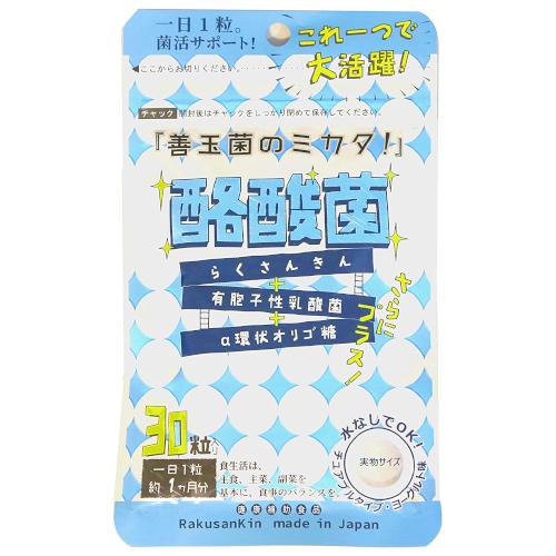 善玉菌のミカタ!酪酸菌チュアブル ヨーグルト味 30粒
