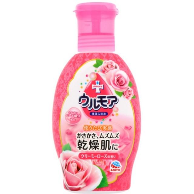 ウルモア 保湿入浴液 クリーミーローズの香り 600ml  F05