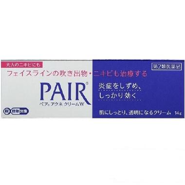 【第2類医薬品】ペアアクネクリームW 14g  SM税制対象