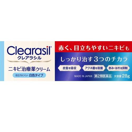 【第2類医薬品】クレアラシルニキビ治療クリームレギュラー 28g