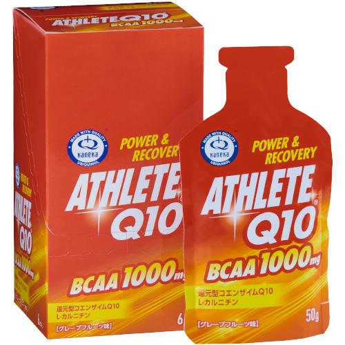 アスリート Q10 BCAA グレープフルーツ味 50g×6本
