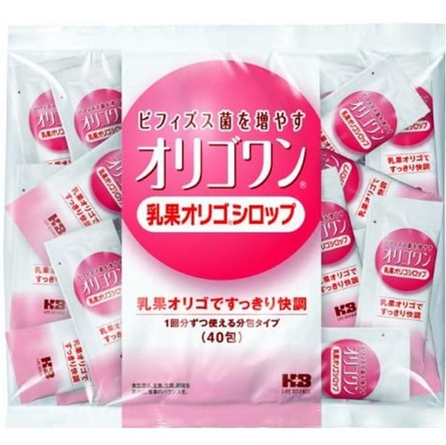 オリゴワン乳果オリゴシロップ分包 7G×40包
