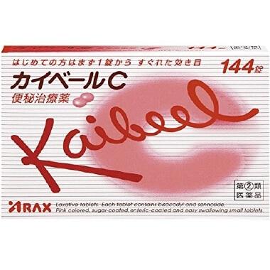【指定第2類医薬品】カイベールC 144錠