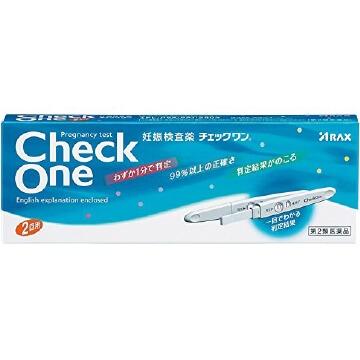 【第2類医薬品】チェックワン 2回用