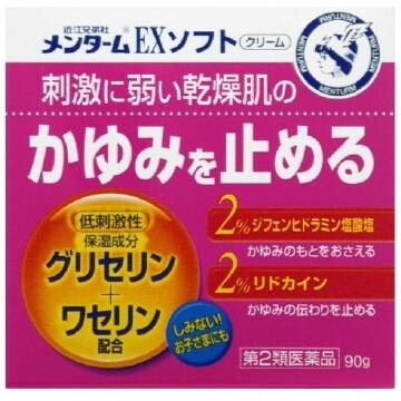 【第2類医薬品】メンタームEXソフト 90g