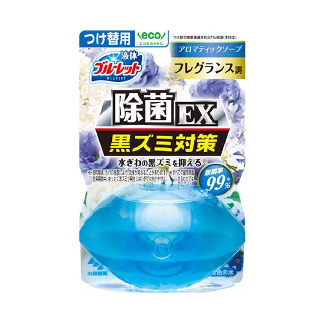 液体ブルーレットおくだけ除菌EXフレグランスつけ替用 アロマティックフロソープ 70ml