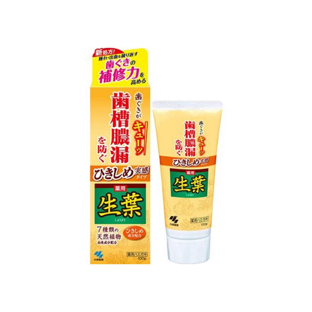 【小林製薬】ひきしめ生葉 100g