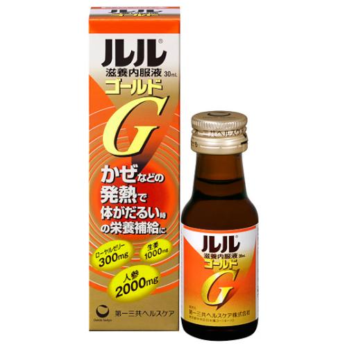 【指定医薬部外品】ルル滋養内服液ゴールド 30ml
