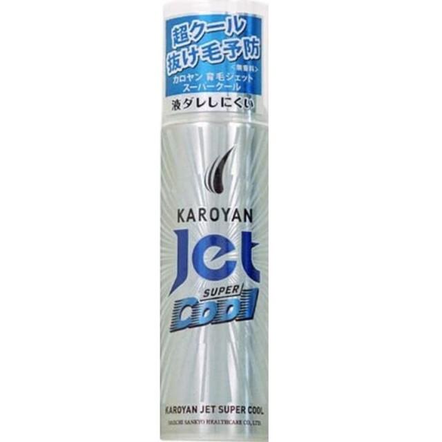 【第一三共ヘルスケア】カロヤンジェット 無香料スーパークール 185G F30