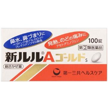 【指定第2類医薬品】新ルルAゴールドs 100錠  SM税制対象
