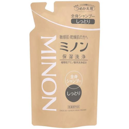 【医薬部外品】ミノン 全身シャンプー しっとりタイプ詰替用 380ml   F15